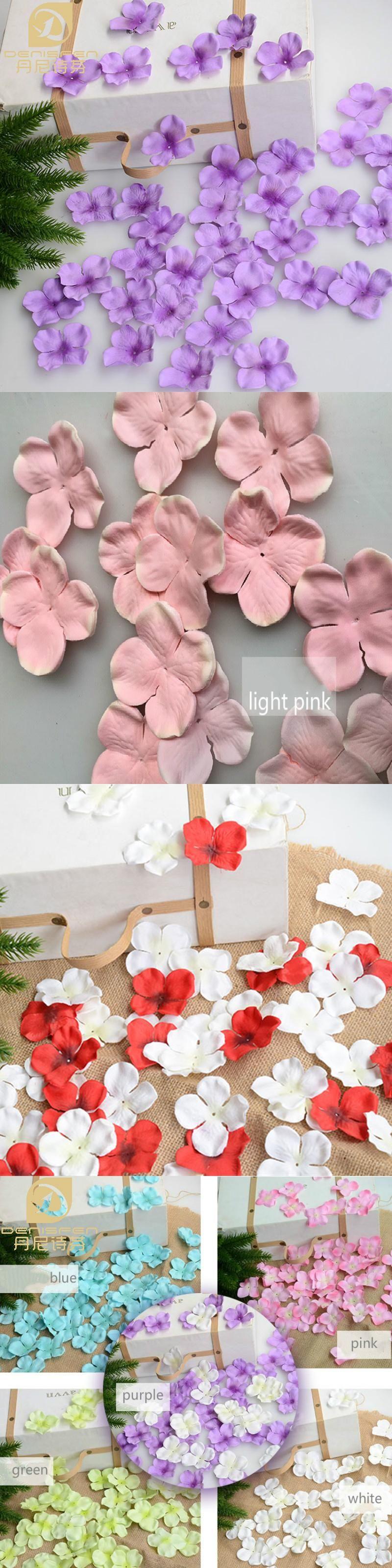100g artificial hydrangea flower petals silk flower wedding 100g artificial hydrangea flower petals silk flower wedding decoration accessories supplies afp1453 free shipping mightylinksfo