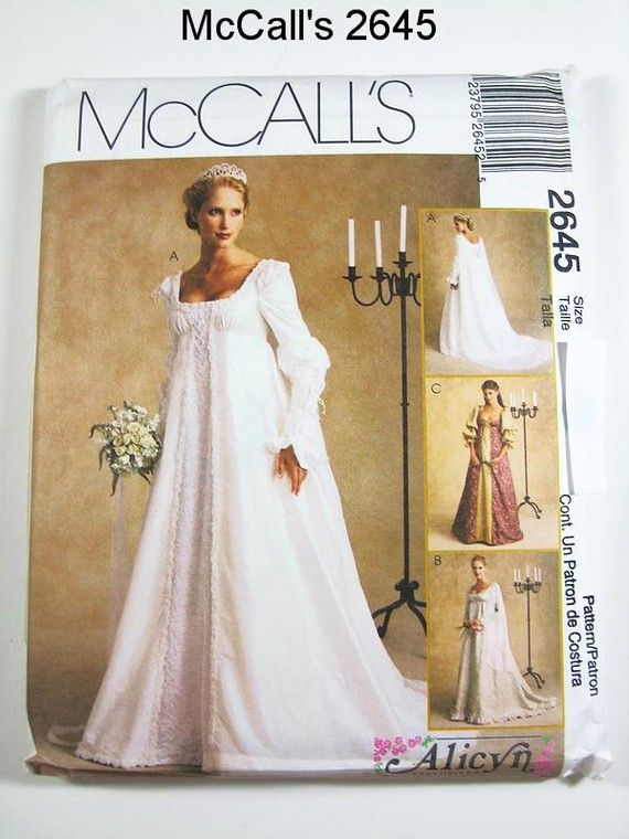 I Like This One If Can Find Someone To Make It Mccall S Wedding Dress Pattern 2645 Misses By Thepatternsource 20 00