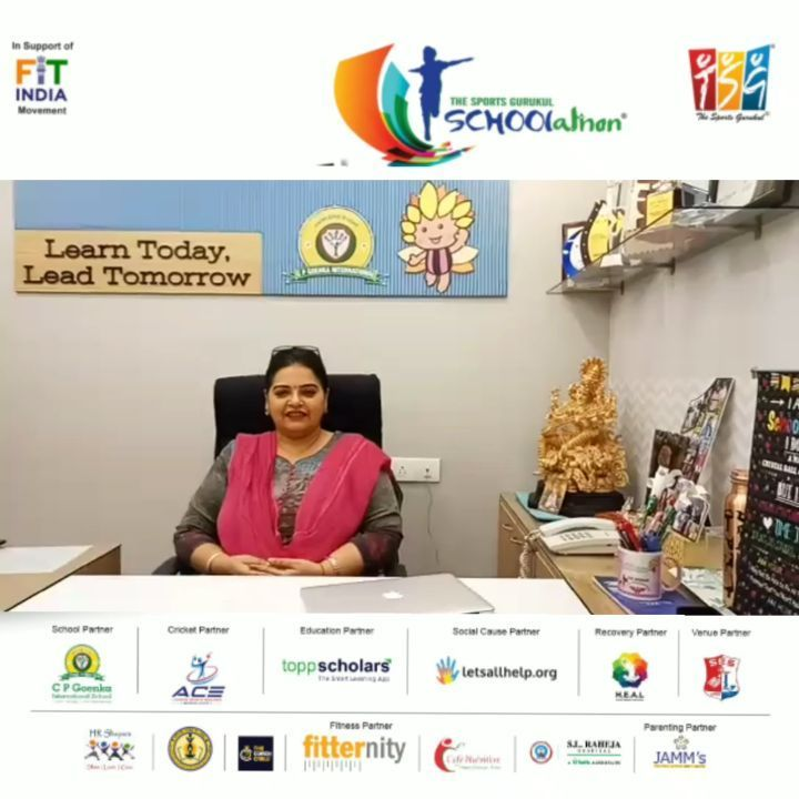 Exited @cpgisjuhu joins hands as we take  @tsgschoolathon to next level. 24 days to go, time to star...