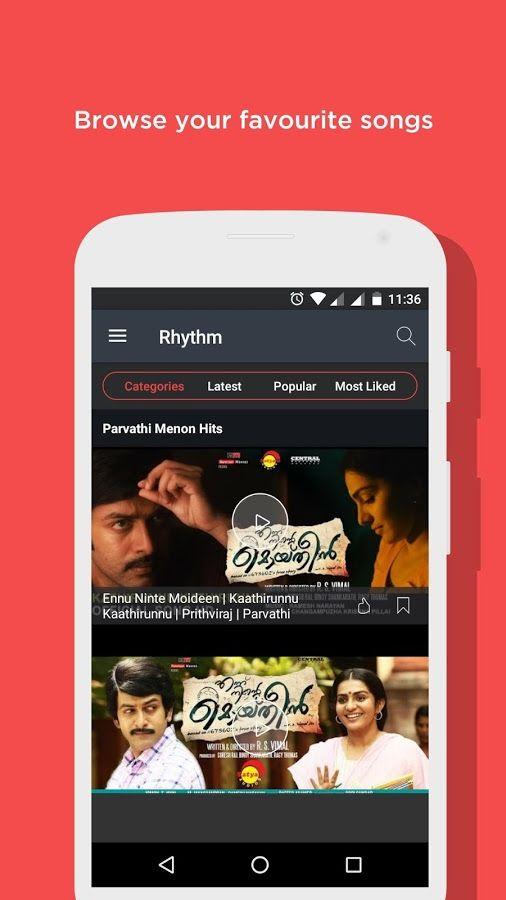 Unlimited HD music videos by RHYTHM malayalam_video_songs