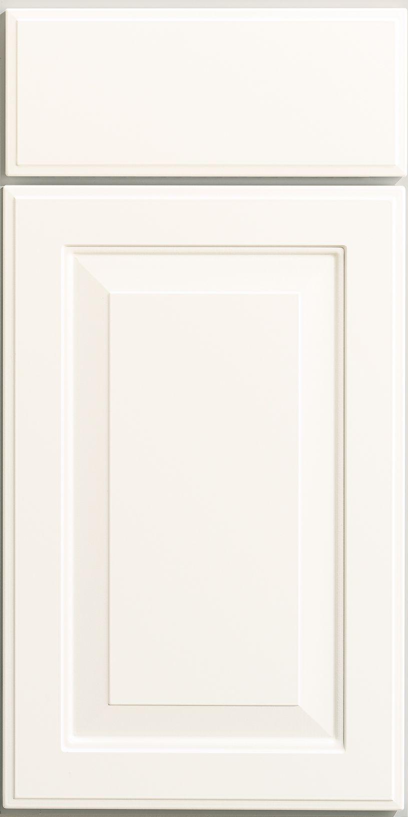Merillat Classic Whitebay Ii Cabinet Door In White Thermofoil Laminate Classic Cabinets Cabinet Door Styles Cabinet