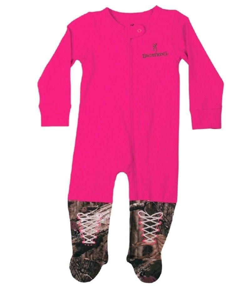498be4a8fff0a Browning Baby's Buckmark Mossy Oak Union Body Suit - BRB0012.420 ...