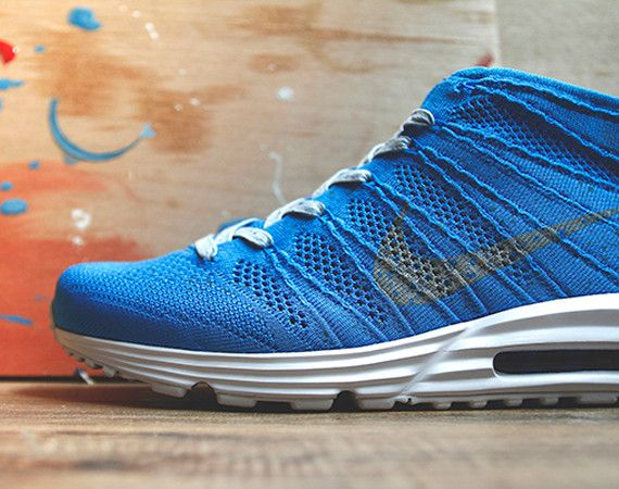 09f9f6b07a7283 NYC is getting some more Flyknit love in the form of the newly revealed Nike  LunarMax Flyknit Chukka SP. This upcoming model