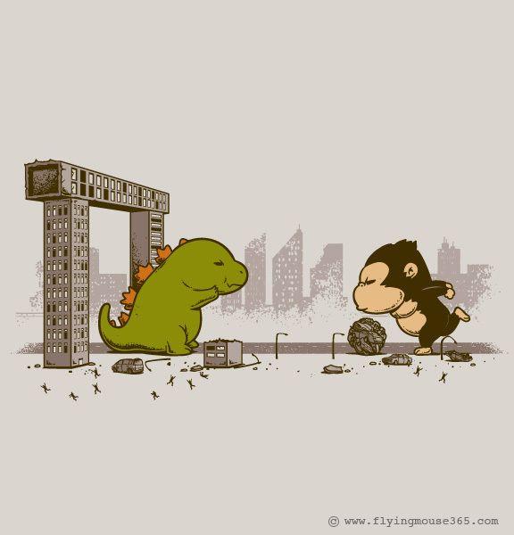 Tee Shirt Illustration - 2012 (Q3 - 2nd Batch) by Chow Hon Lam