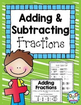 image relating to Adding and Subtracting Fractions Game Printable titled Including and Subtracting Fractions Game titles and Things to do