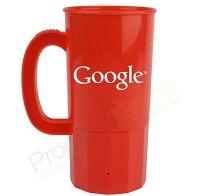 Custom 22 oz Personalized Plastic Beer Mug Cups - | Custom
