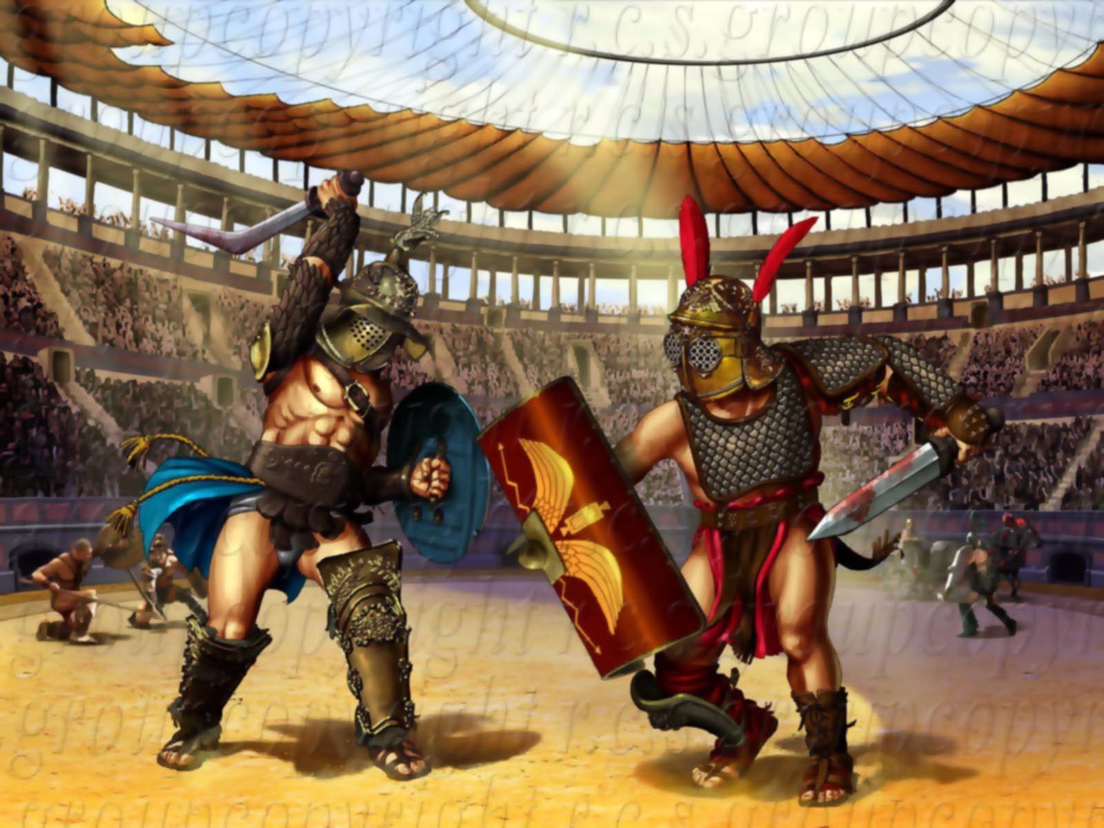 бойтесь гладиаторы древнего рима фото столь