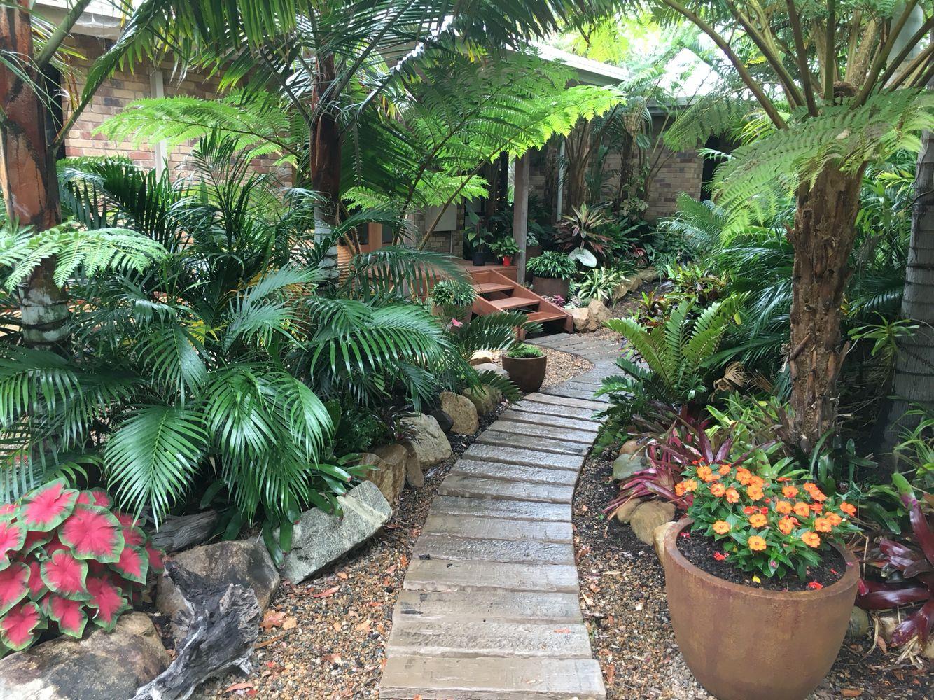 Tropical Garden Entrance Tropical Landscape Design Garden