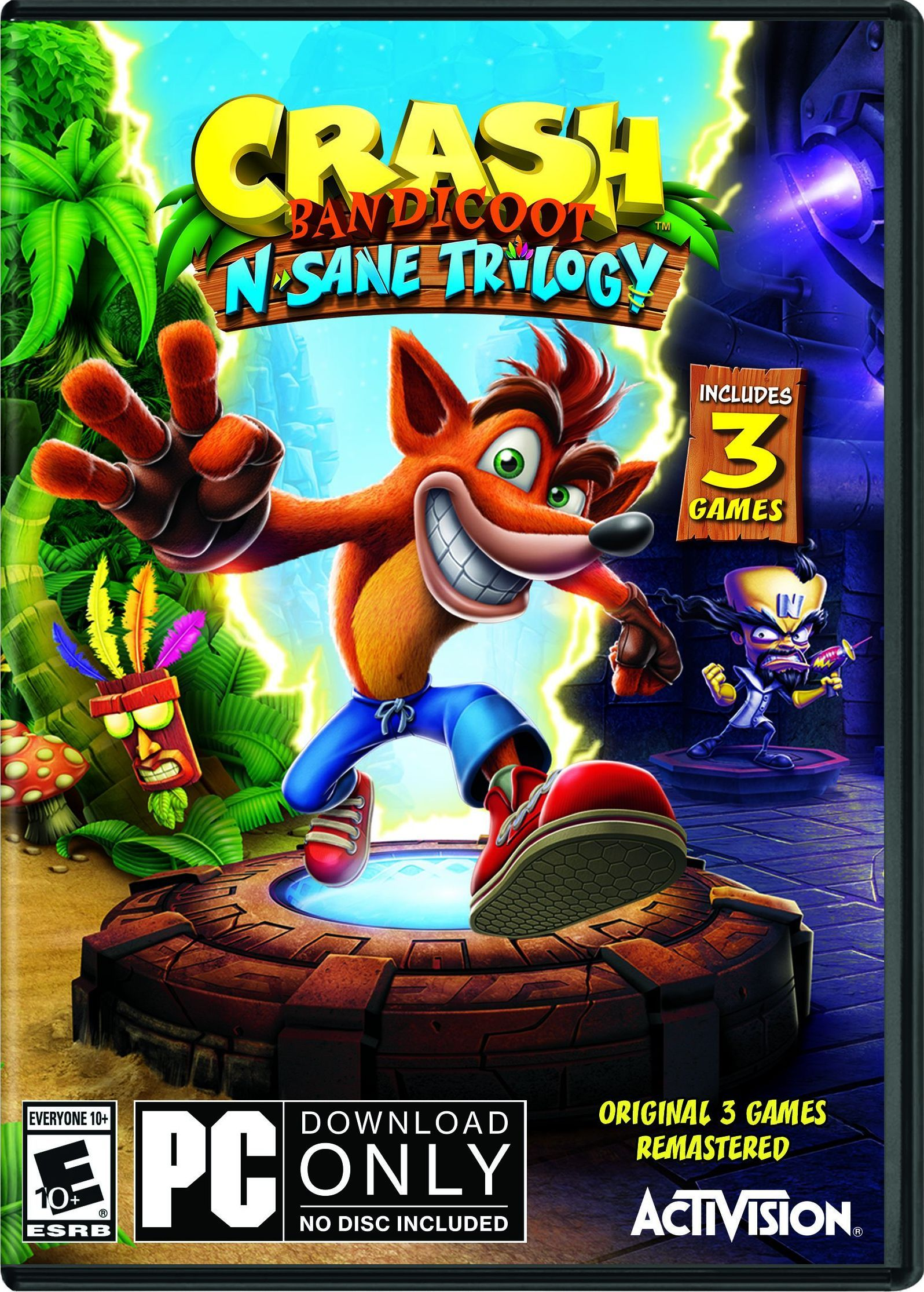 Crash Bandicoot N. Sane Trilogy Crash bandicoot