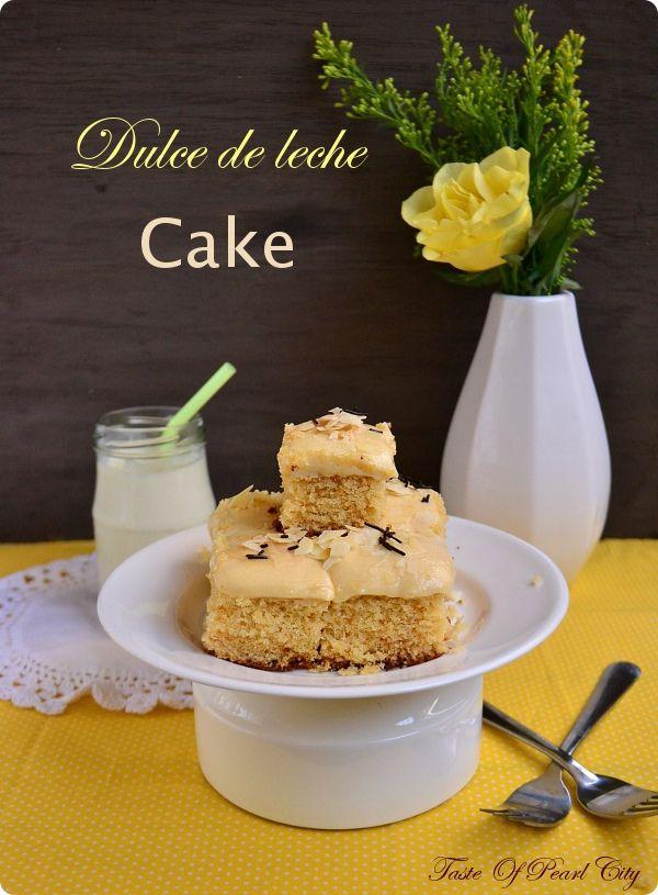 Dulche de leche Cake