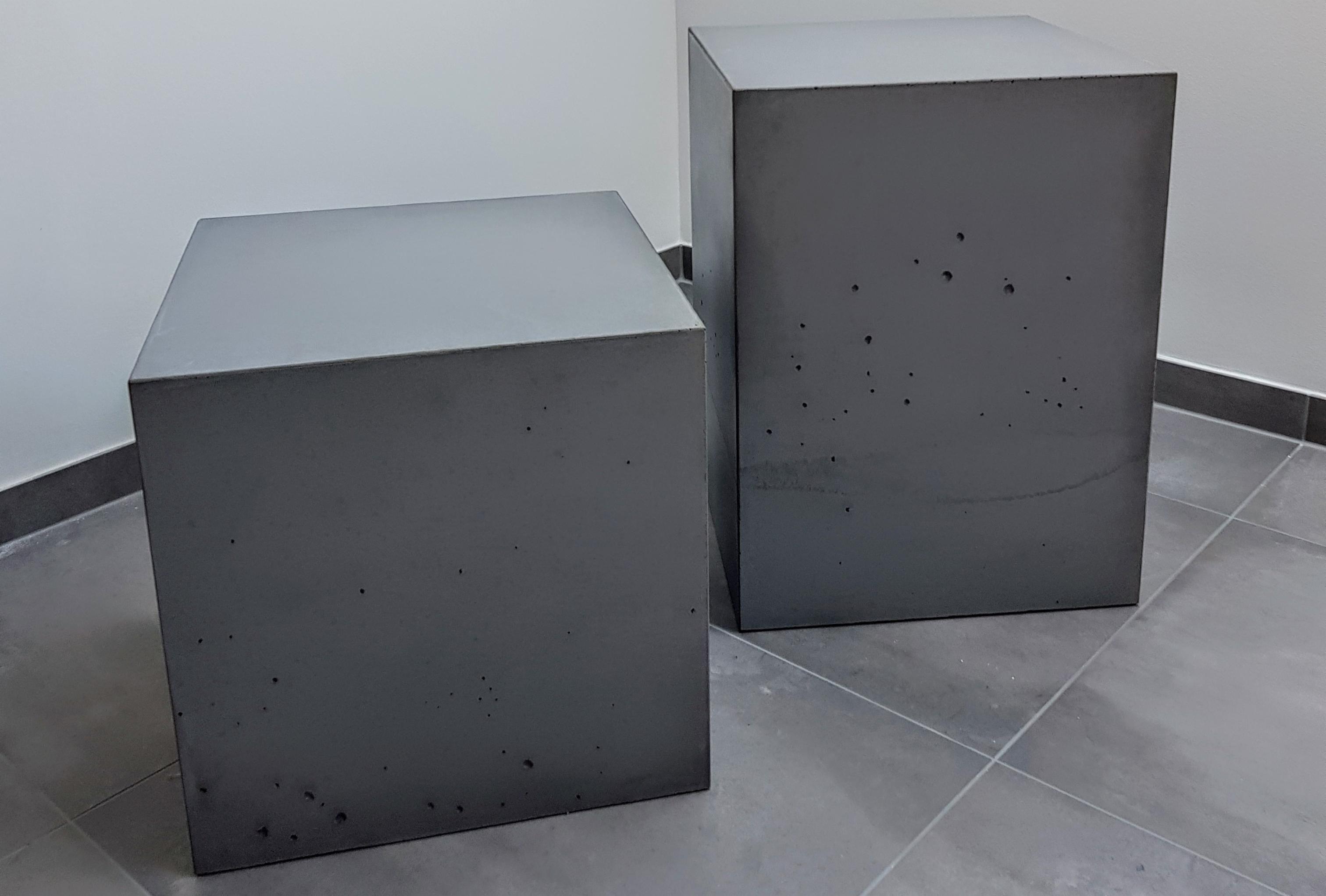 Einfach Cool Unser Beton Cube Passt Uberall Ob Als Deko Objekt