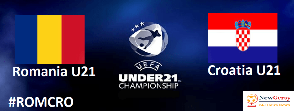 Romania U21 vs Croatia U21 UEFA EURO U21 live free TV