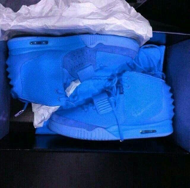 Blue December Nike Air Yeezy2
