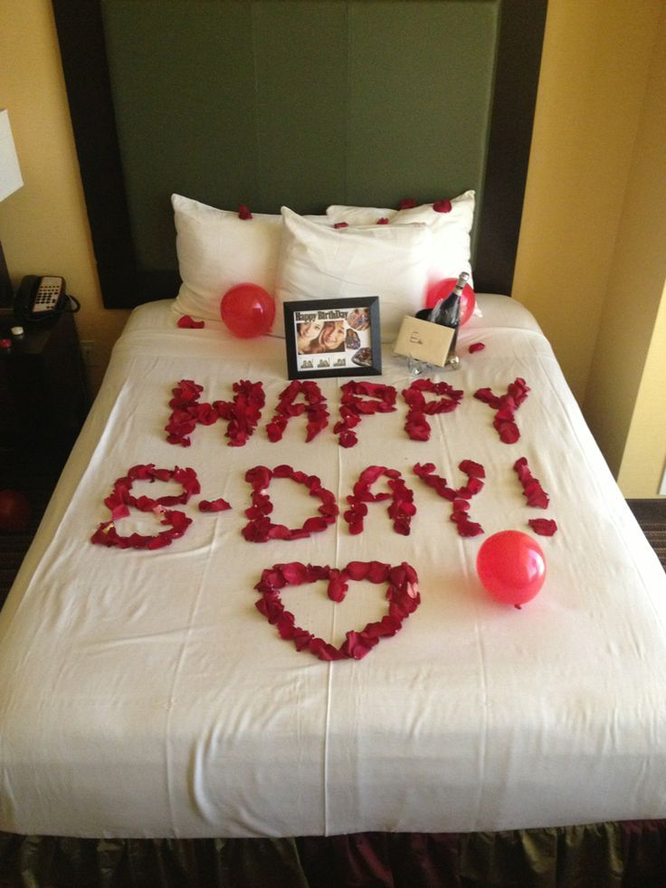 Image result for romantic birthday surprises for her