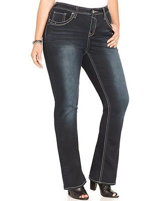 Hydraulic plus size bootcut jeans