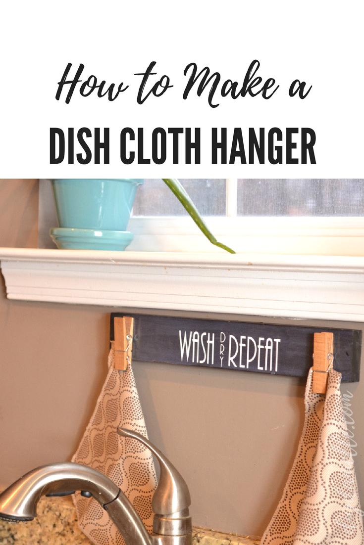 Diy Dish Cloth Holder Perfect For Masks Diy Danielle Dish Cloths Diy Decor Diy Dish