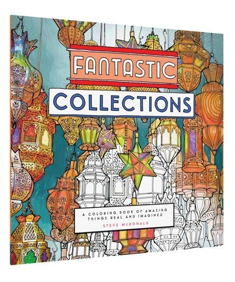 Interview With Steve McDonald Creator Of Fantastic Cities Coloring Book