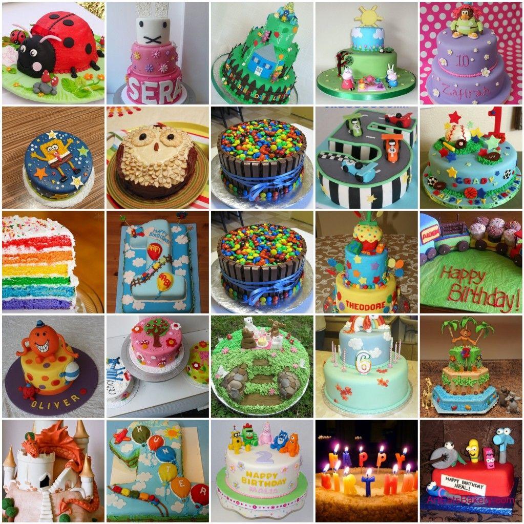 kids birthday cake inspiration a world of colour Childrens