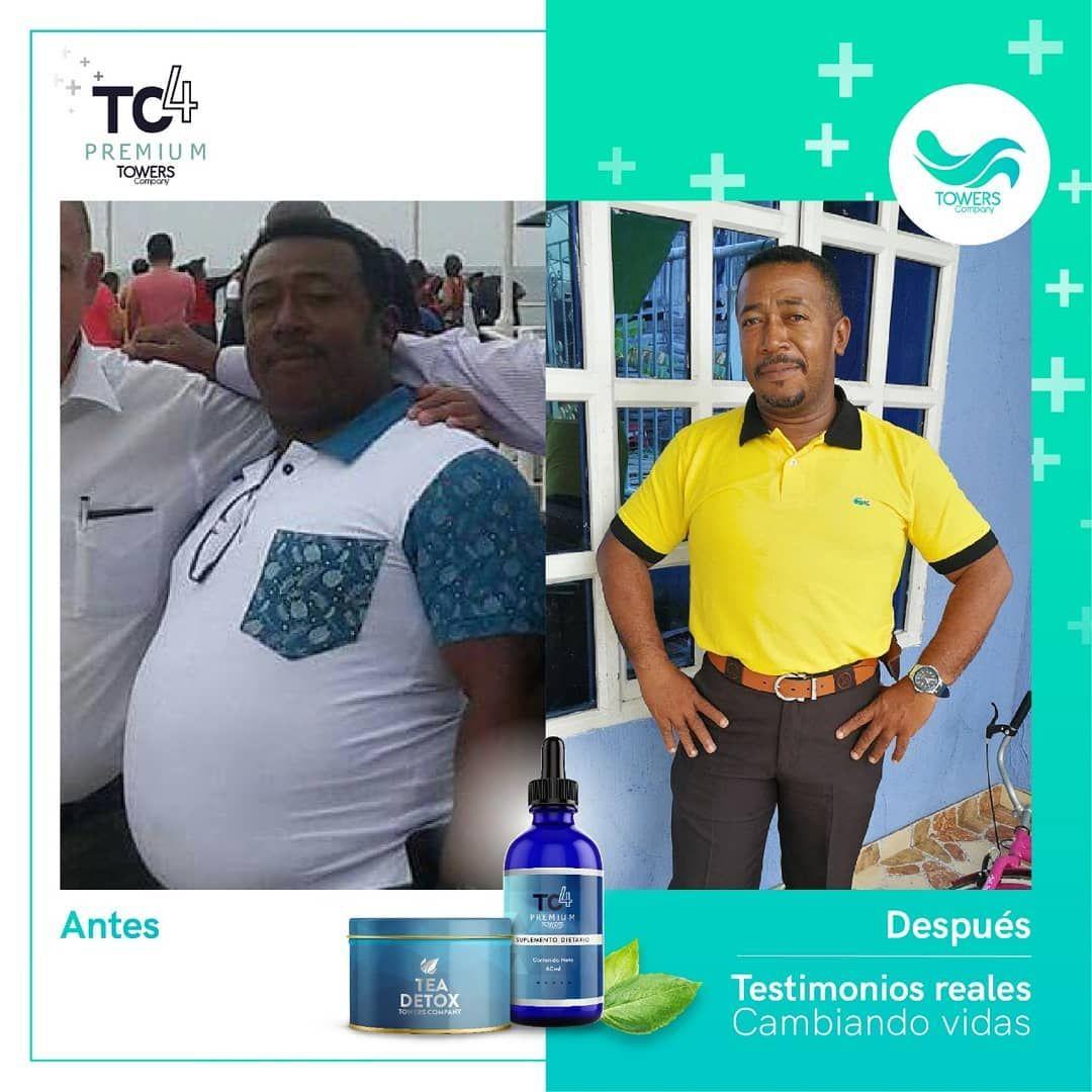Quieres vivir un cambio como este? Mejorar tu #Salud y #Autoestima? Inicia desde hoy con el #RetoTc4...
