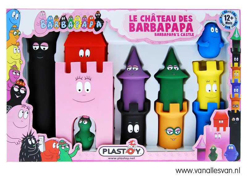 Een Barbapapa Kasteel Voor Kids Vanaf 1 Jaar Meer
