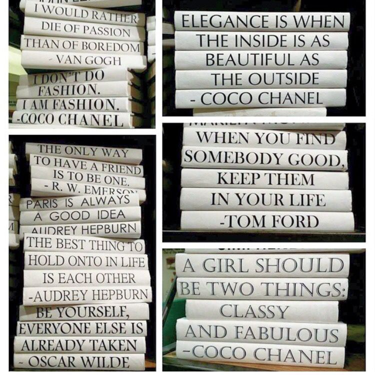 Create a stack of books with your own quote! Paint a few