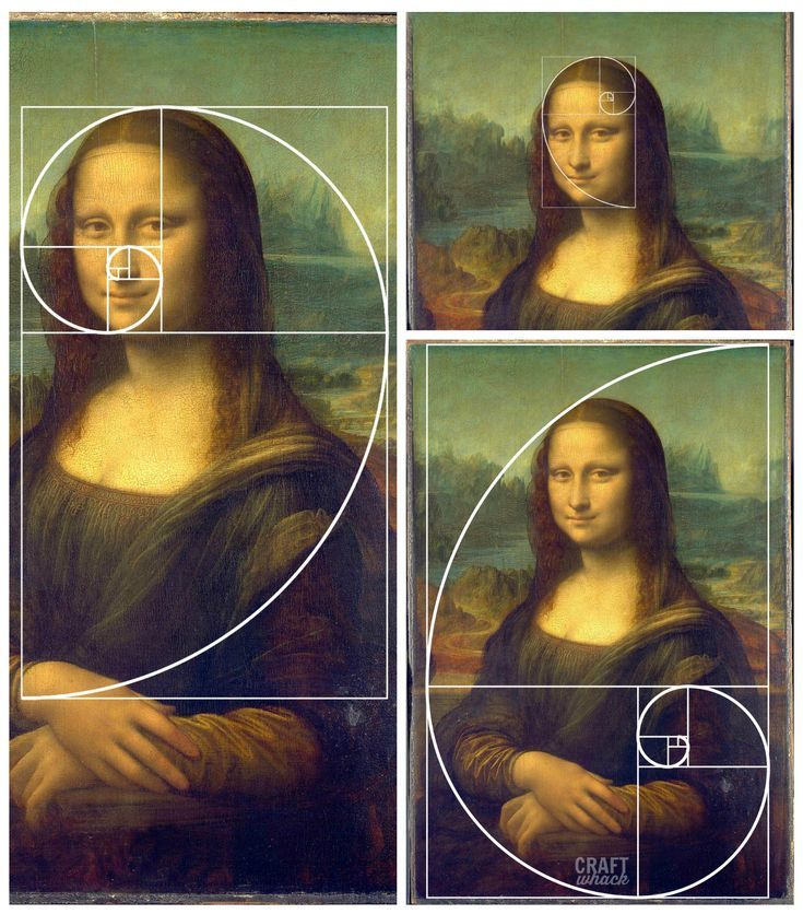 The Golden Ratio in Art and Architecture, including a brief history of The Golden Ratio and a taste of the many artists influenced by The Golden Ratio. #Fibonaccispiral #goldenmean #fibonacci