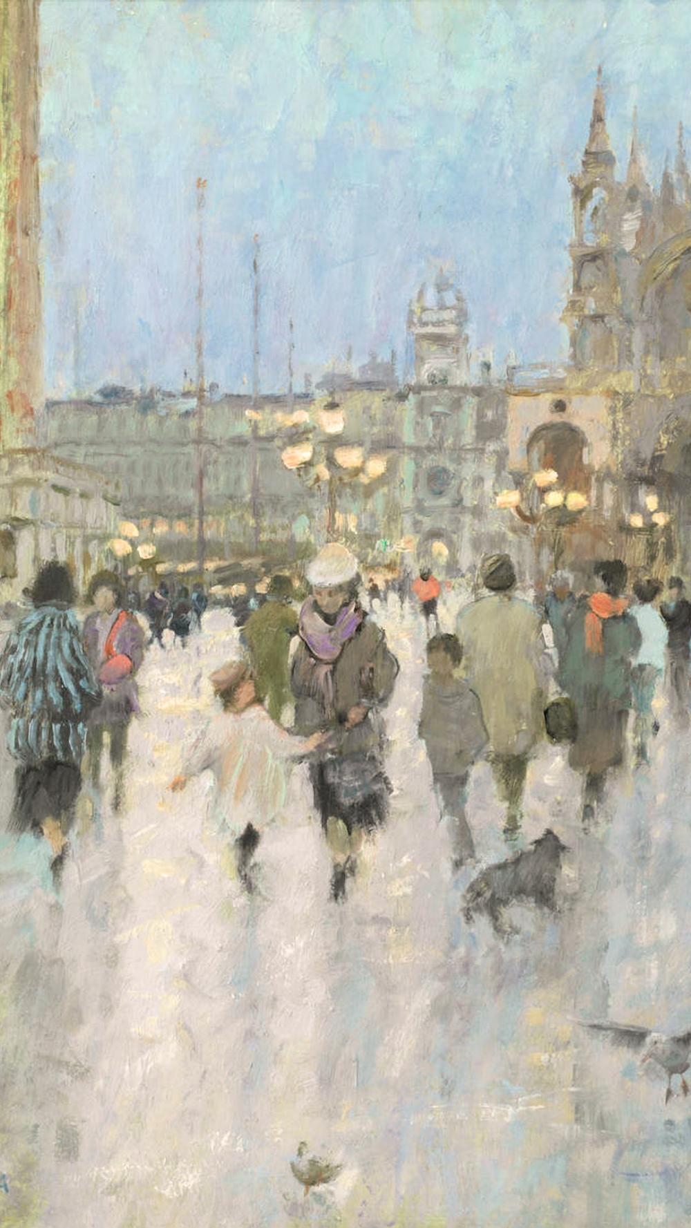ダイアナ アームフィールド Dusk In The Piazzetta Venice Diana