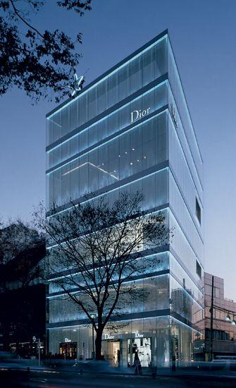 Dior omotesando tokyo designed by sanaa architecture futuristische architektur architektur - Futuristische architektur ...