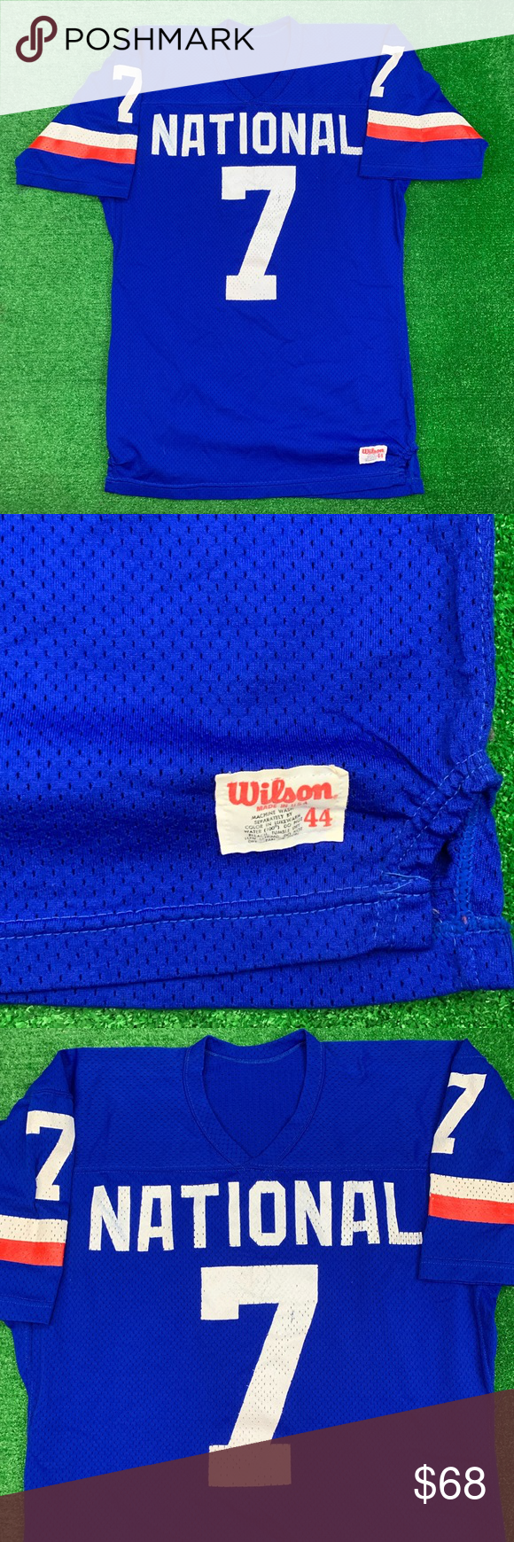 Vintage Wilson NFL National League Pro Bowl Jersey (With