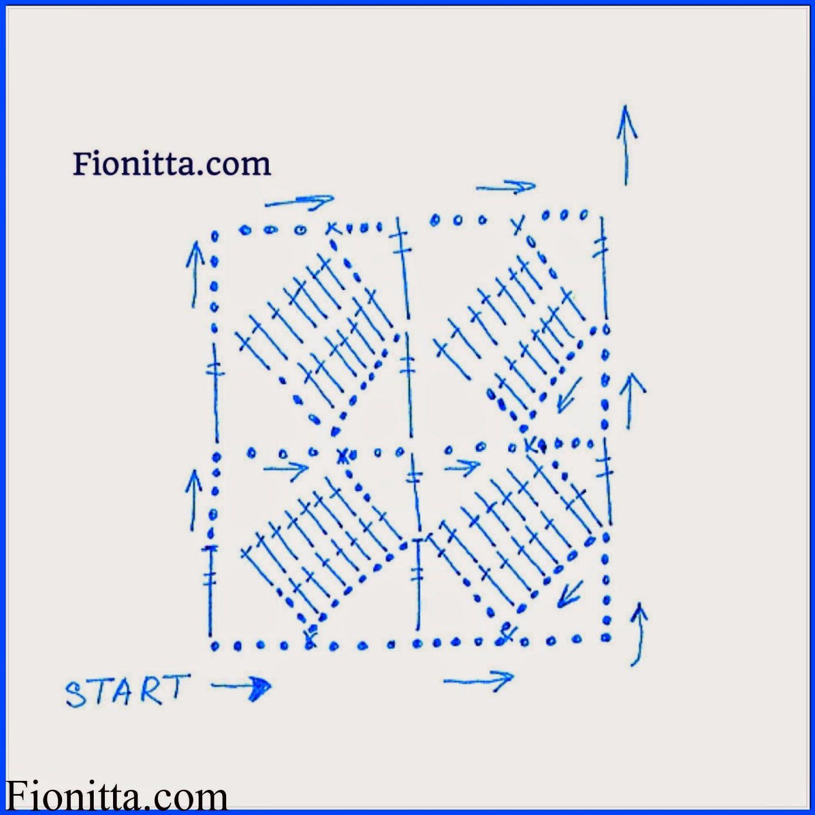 Bufanda-Scarf Verano de Crochet Tutorial - Patrones Crochet ...