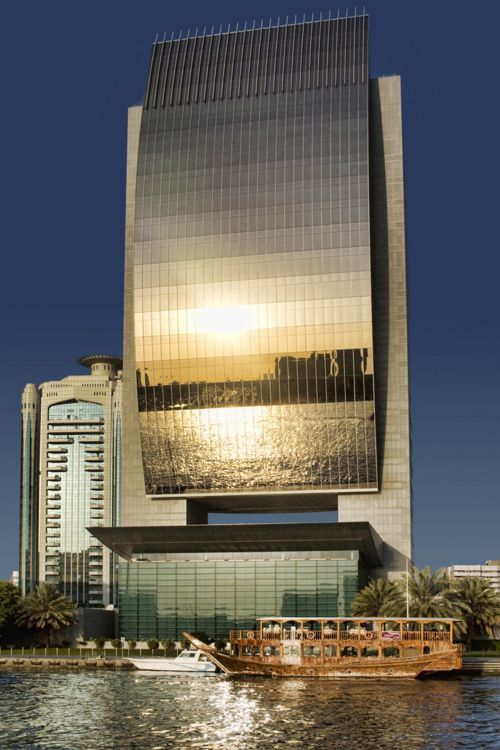 Dubai Architecture U0026 Dynamic Tower : National Bank Of Dubai.
