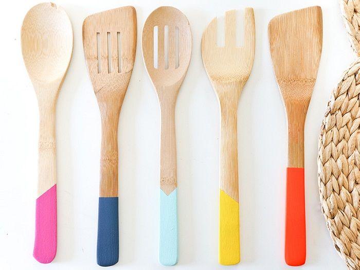 utensilios de cocina 94 tutoriales diy c mo decorar los utensilios de cocina de