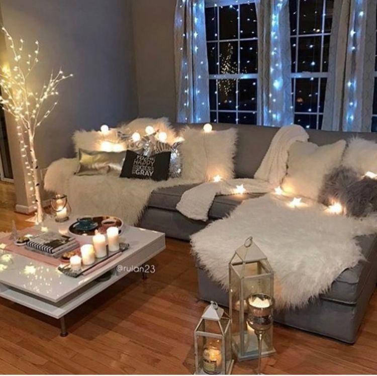 Wohnzimmer Gestalten, Schlafzimmer Ideen, Graues Sofa, Einrichten Und  Wohnen, Kleine Wohnung Einrichten, Schöner Wohnen, Raumgestaltung,  Dekorieren, Zuhause