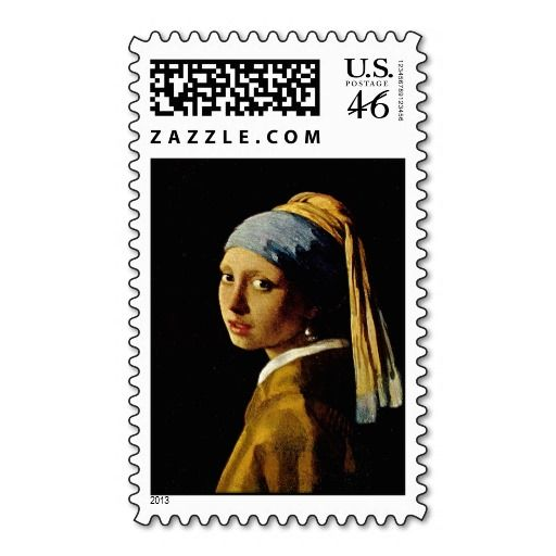 The Girl with a Turban/Girl with the Pearl Earring Stamps