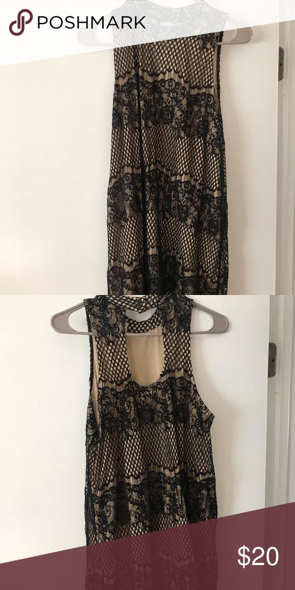 NWT Lace Swing Dress