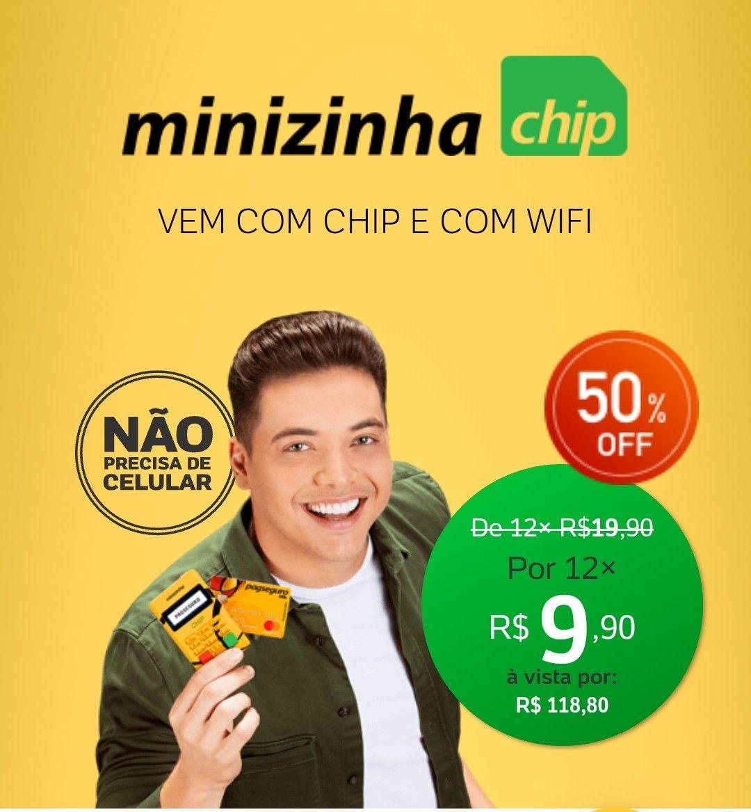 Minizinha Chip 2 Controle De Estoque Venda De Cosmeticos E