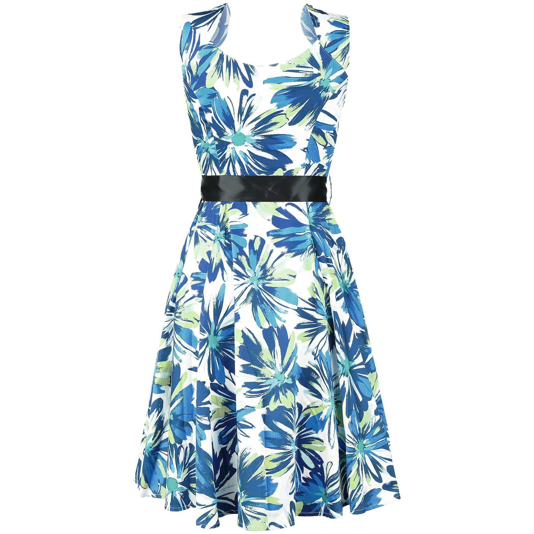 Floral Long Dress - Mekko - H&R London - Tuotenumero: 278671 - alkaen 45,99 € • EMP.fi