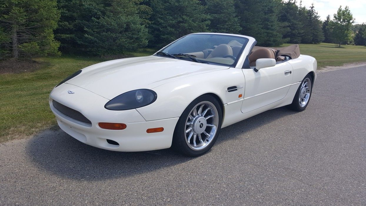 1997 Aston Martin Db7 Convertible Lease With Premier Russo Steeleauction Scottsdaleauctions White Image Source Russoandstele Com 5021