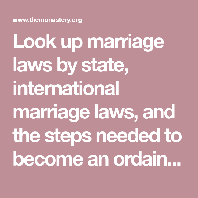 Marriage Law, Marriage, Law