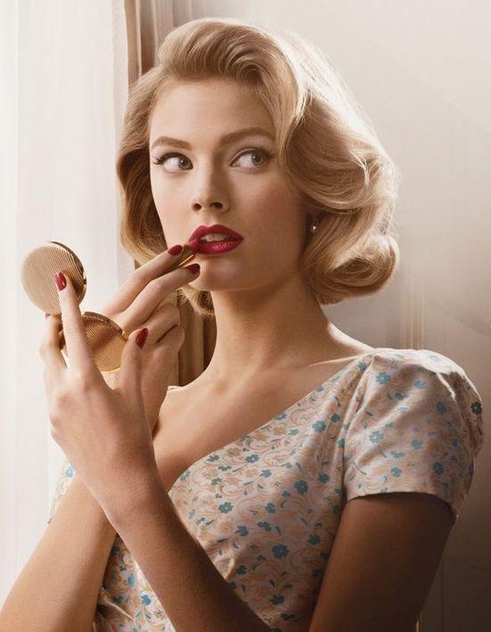 J Adopte Une Coiffure Vintage Femme Actuelle Le Mag