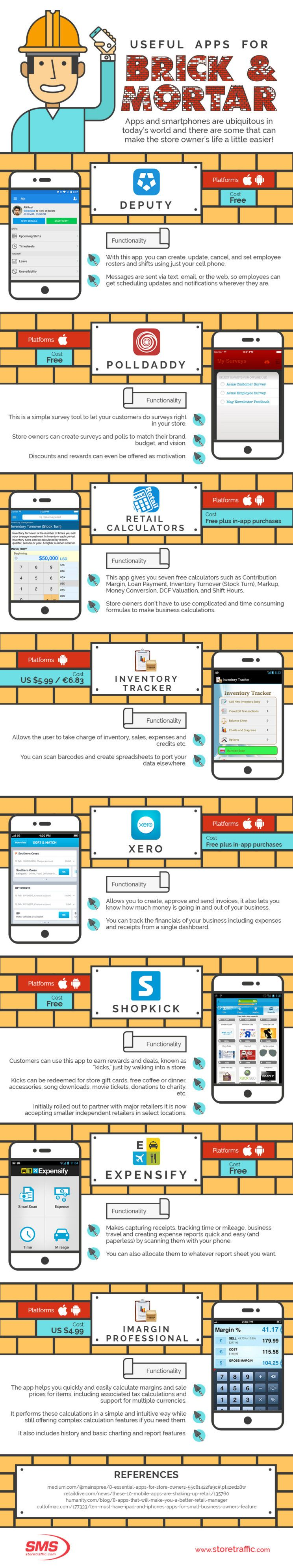 Useful Apps for Brick and Mortar