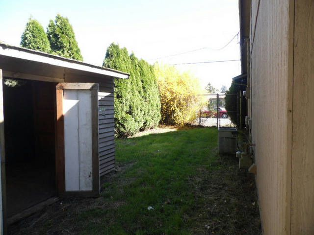Back yard and shed. #FrontDoorRealty #FrontDoorNW #HomesForSale #PDX #Portland #PortlandOR #PortlandHomesForSale #OregonHomesForSale #OneLevelHomes #RealEstate #PortlandORRealEstate #RealEstateForSale #Auction #AuctionProperty #AuctionHomesForSale
