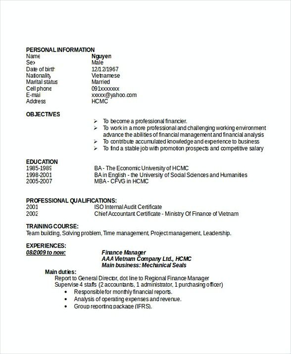 Finance Manager Resume Doc , Bank Branch Manager Resume , This Bank - bank branch manager resume