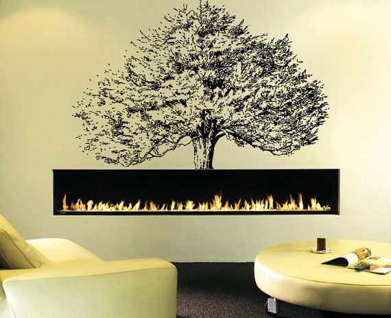 Wall Decal Sticker Bedroom Thee Krona Branch Nature Home Decor 383b