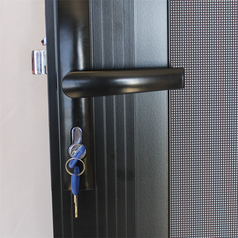 Find Protector Aluminium x Black Adjustable Grille Security Door at Bunnings Warehouse. Visit your local store for the widest range of building \u0026 hardware ... & Find Protector Aluminium 808-848mm x 2030-2070mm Adjustable ...