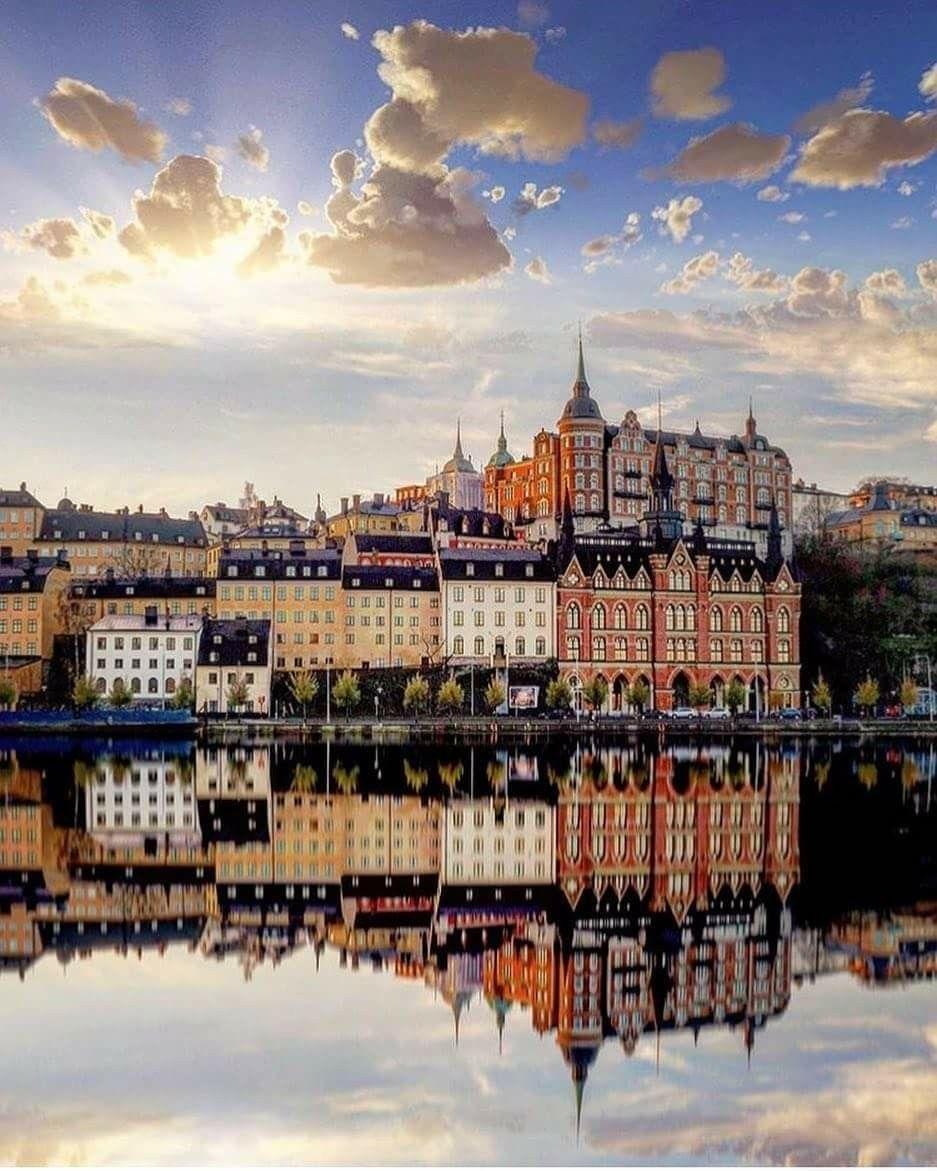 Stockholm Schweden Reise Reisen Schone Orte