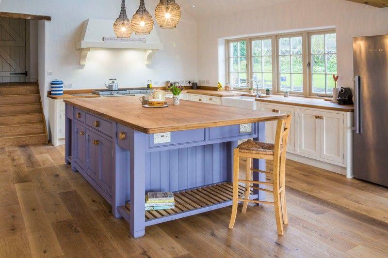 Purple Kitchen Island Opendoor