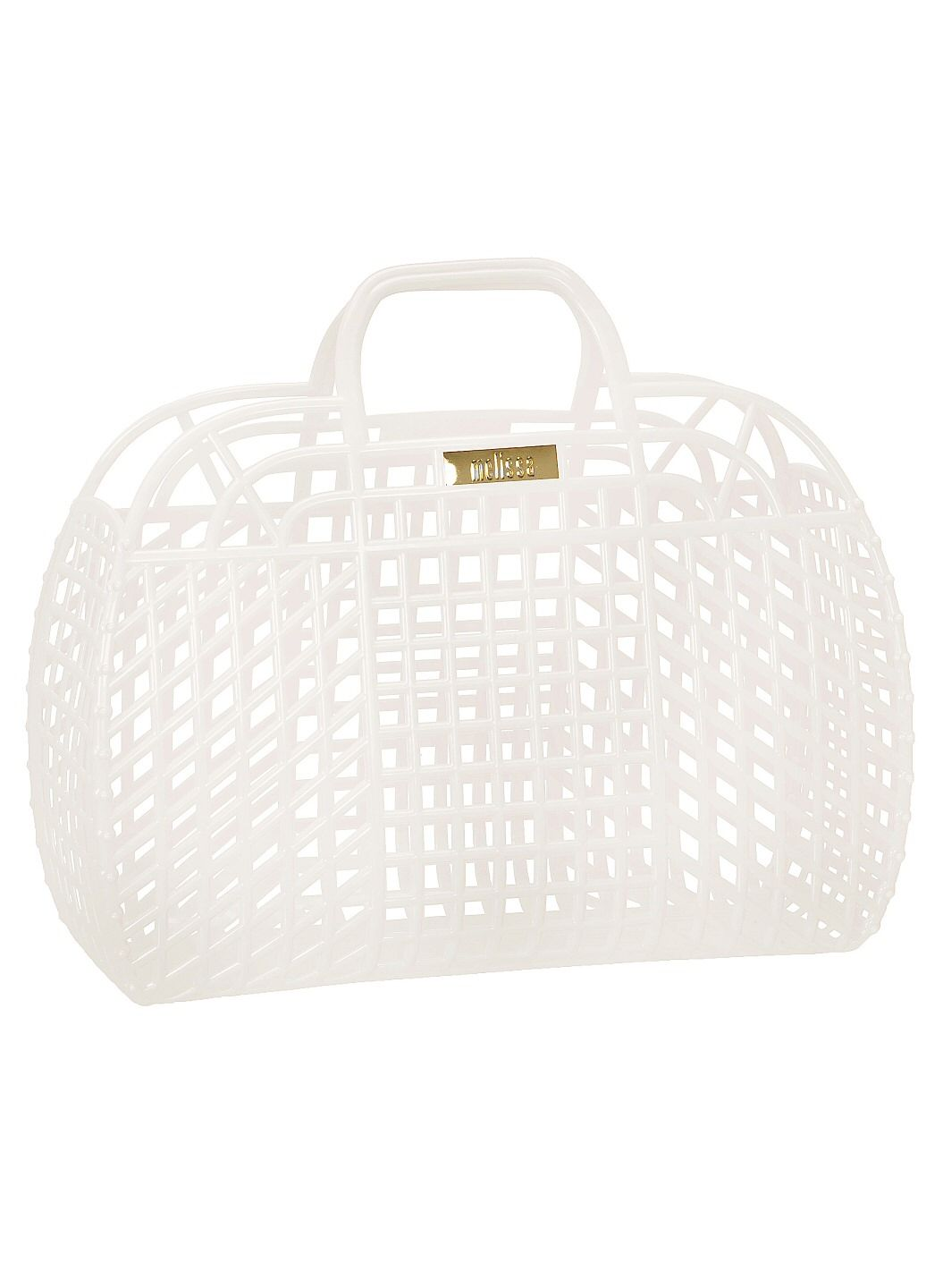 Refraction Bag White Melissa Plastic - Beach Bag | Alexis ...