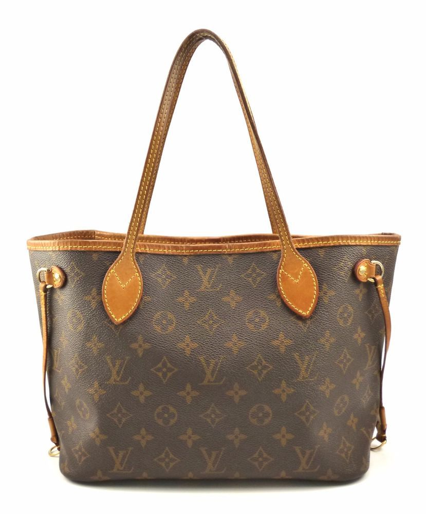 04f23d7ef Authentic Louis Vuitton Neverfull PM Monogram Canvas Women's Shoulder Bag  VI4019 | eBay