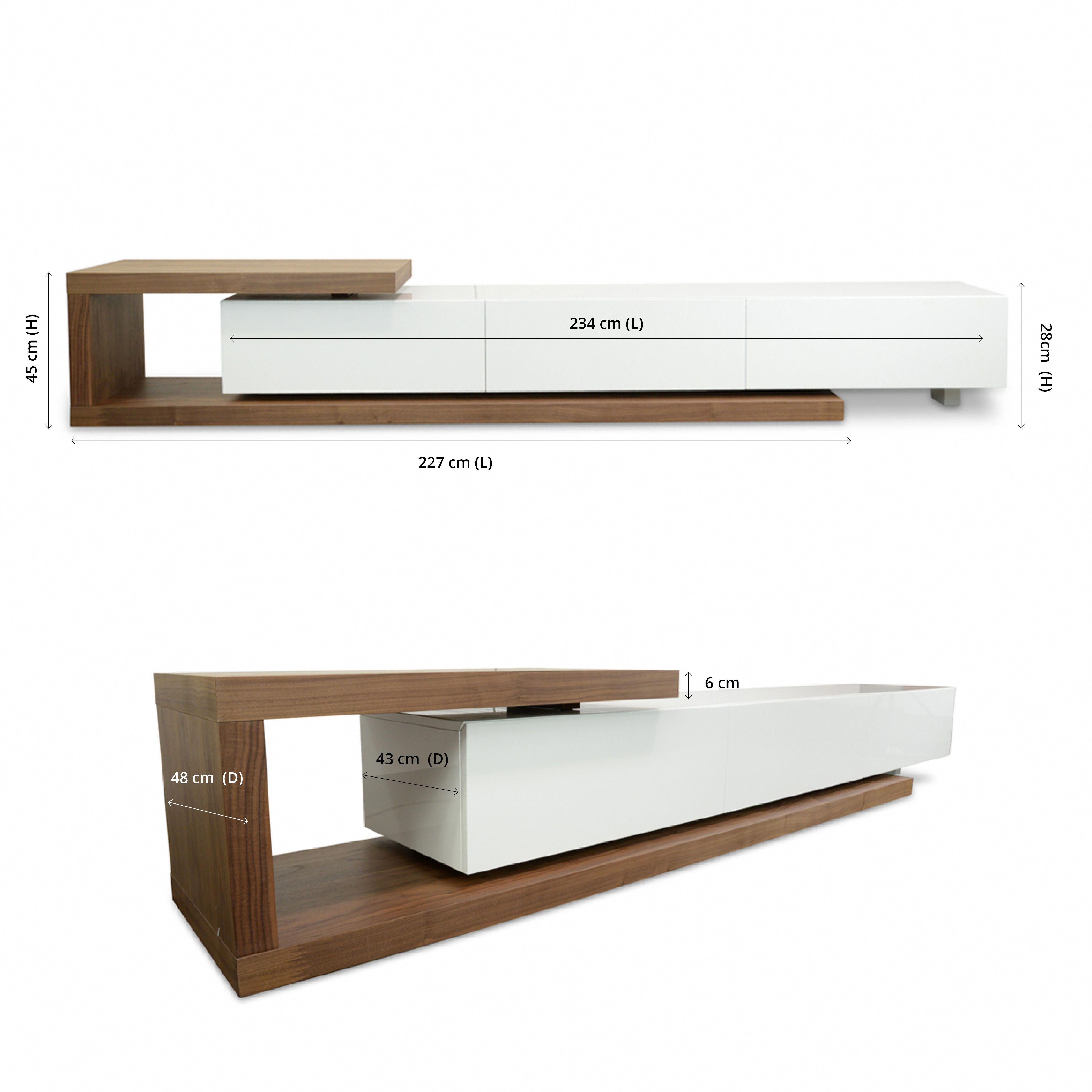 Boasting A Contrasting Strikingly Modern Design And Generous Storage Space Dwell Entertainment Tv Unit Tv Entertainment Units Modern Tv Units Tv Unit Design